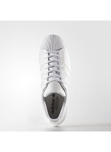 adidas Erkek Superstar Foundation Sneakers B27136 Beyaz